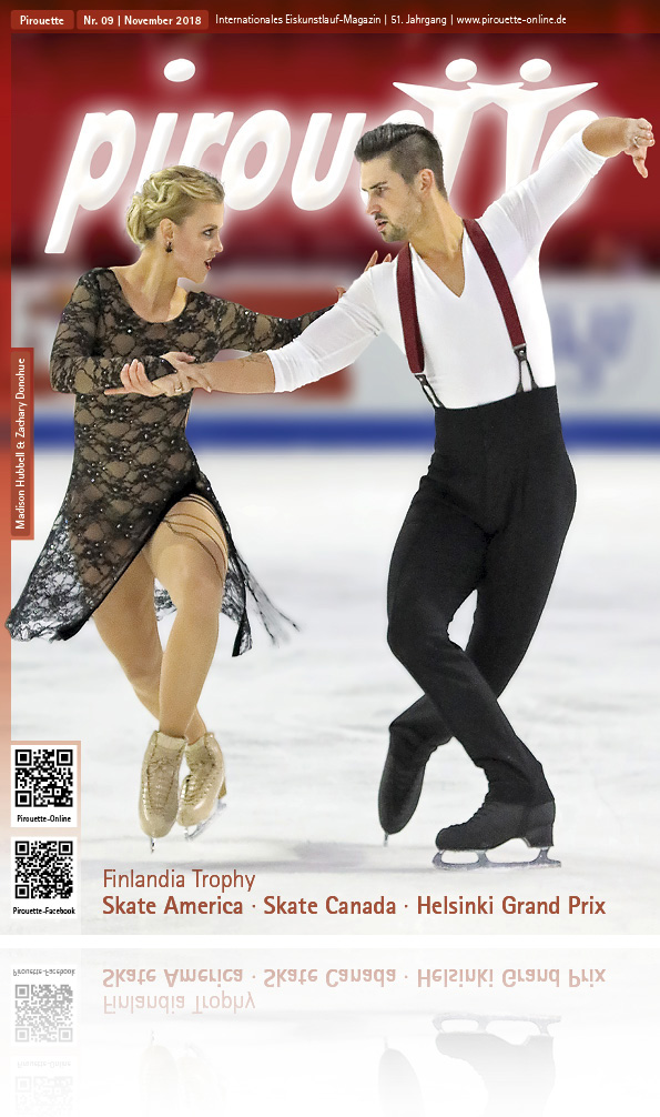 Pirouette Oktober 2018 - Madison Hubbell + Zachary Donohue