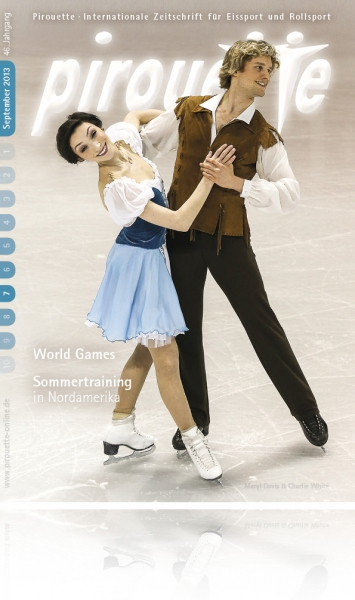 Meryl Davis und Charlie White - September 2013