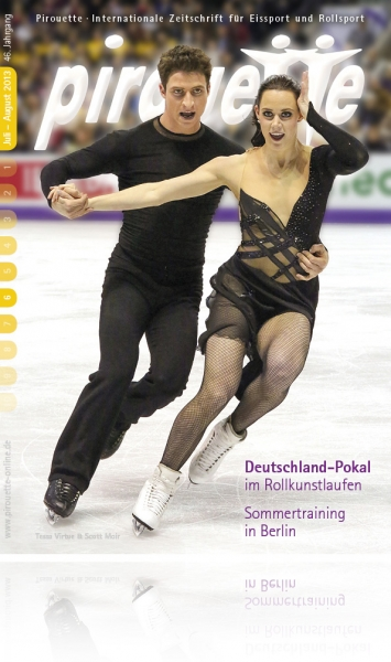 Tessa Virtue und Scott Moir - Juli-August 2013